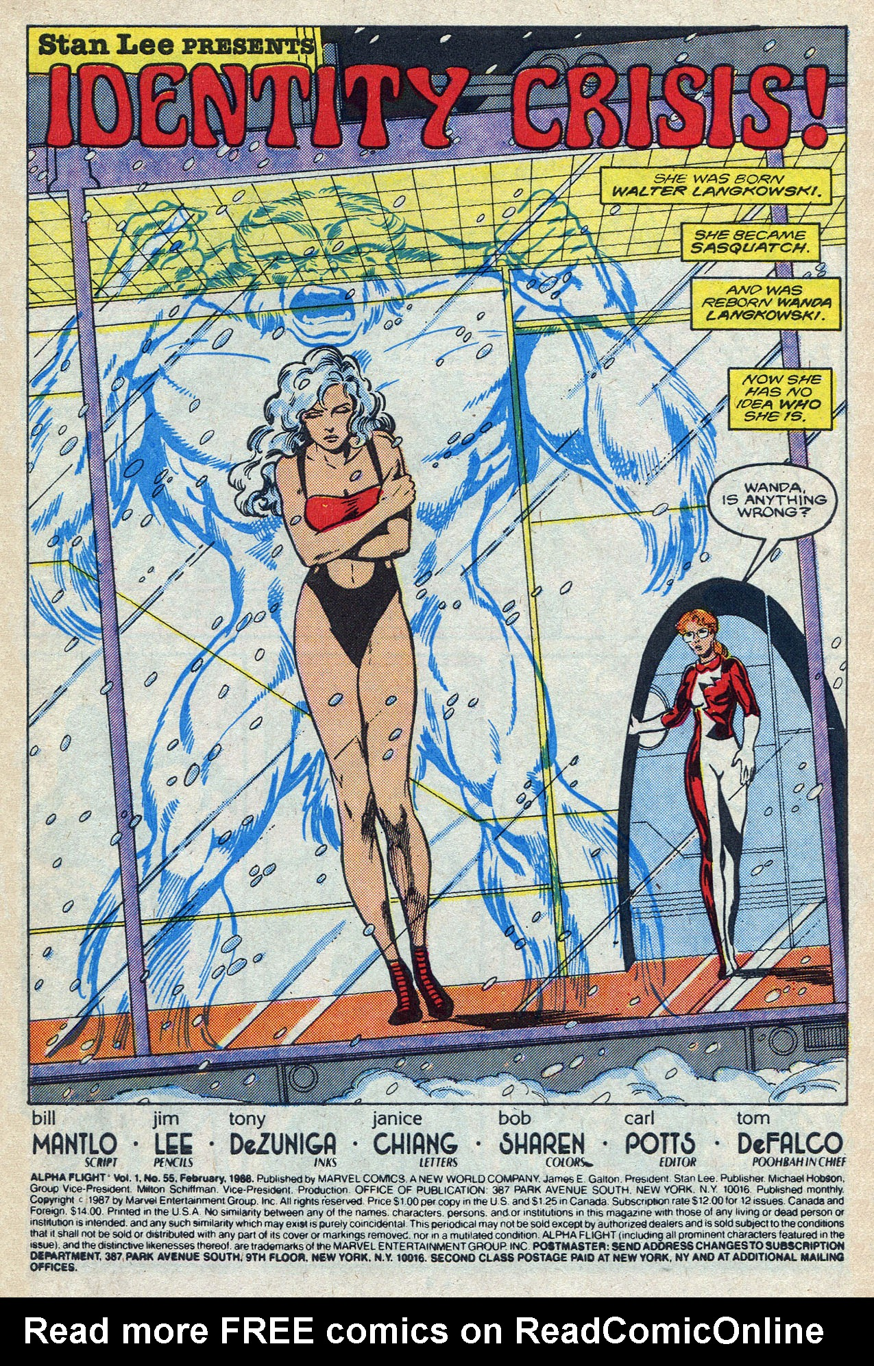 Read online Alpha Flight (1983) comic -  Issue #55 - 3