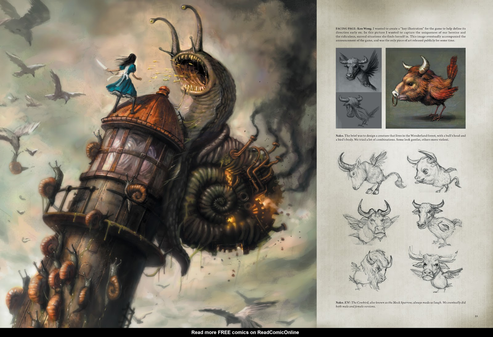 Read online The Art of Alice: Madness Returns comic -  Issue # TPB (Part 1) - 23