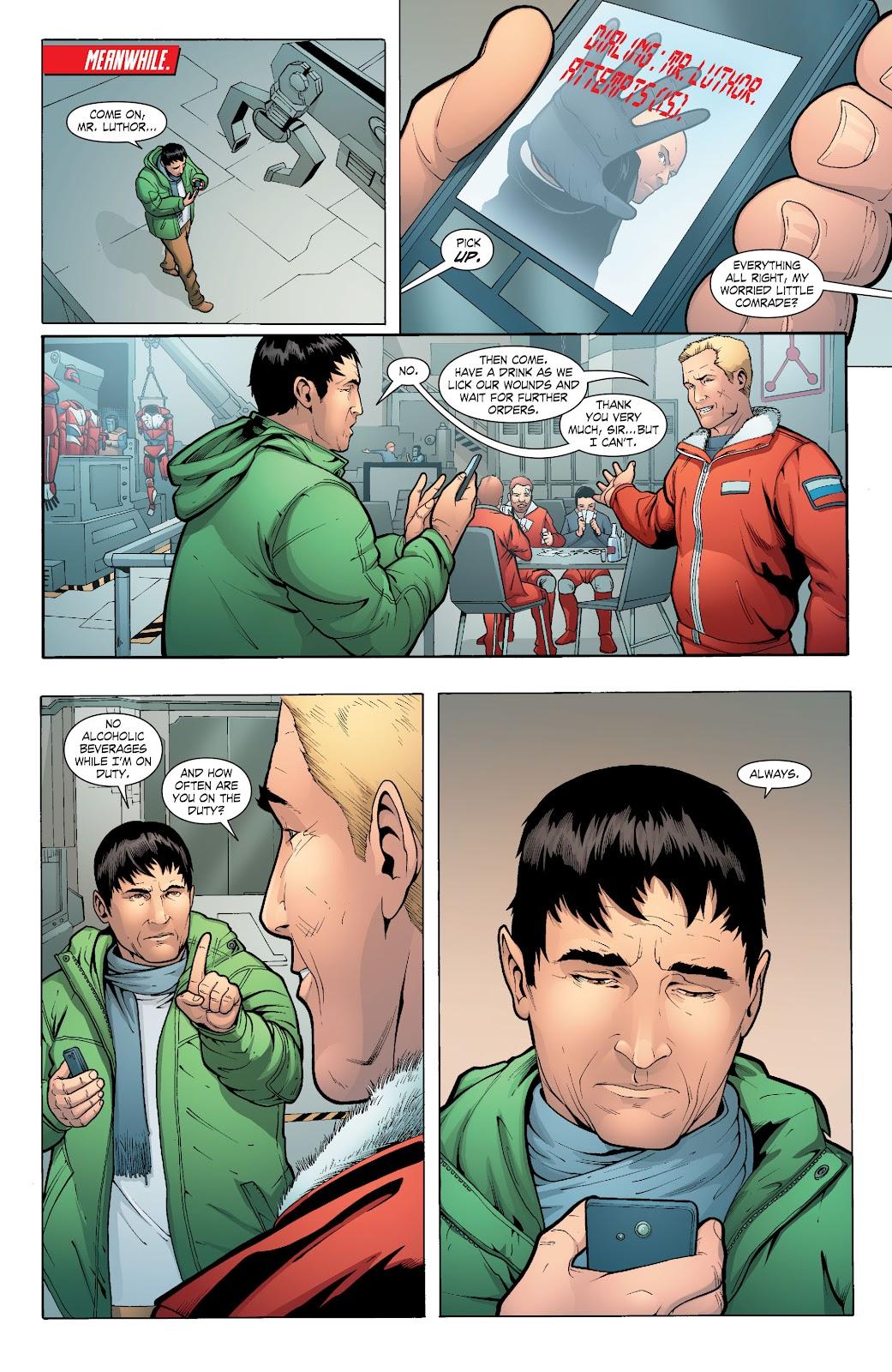 Read online Smallville Season 11 [II] comic -  Issue # TPB 6 - 128