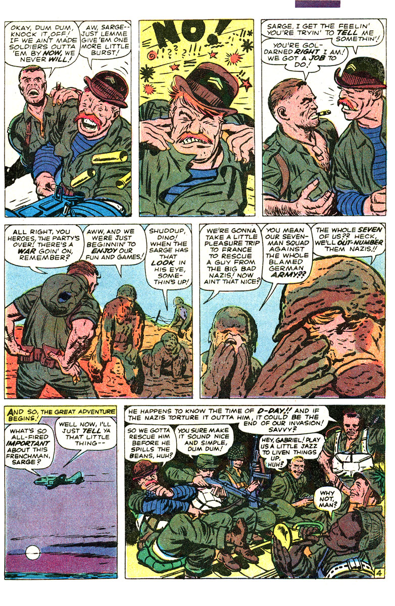 Read online Sgt. Fury comic -  Issue #167 - 7
