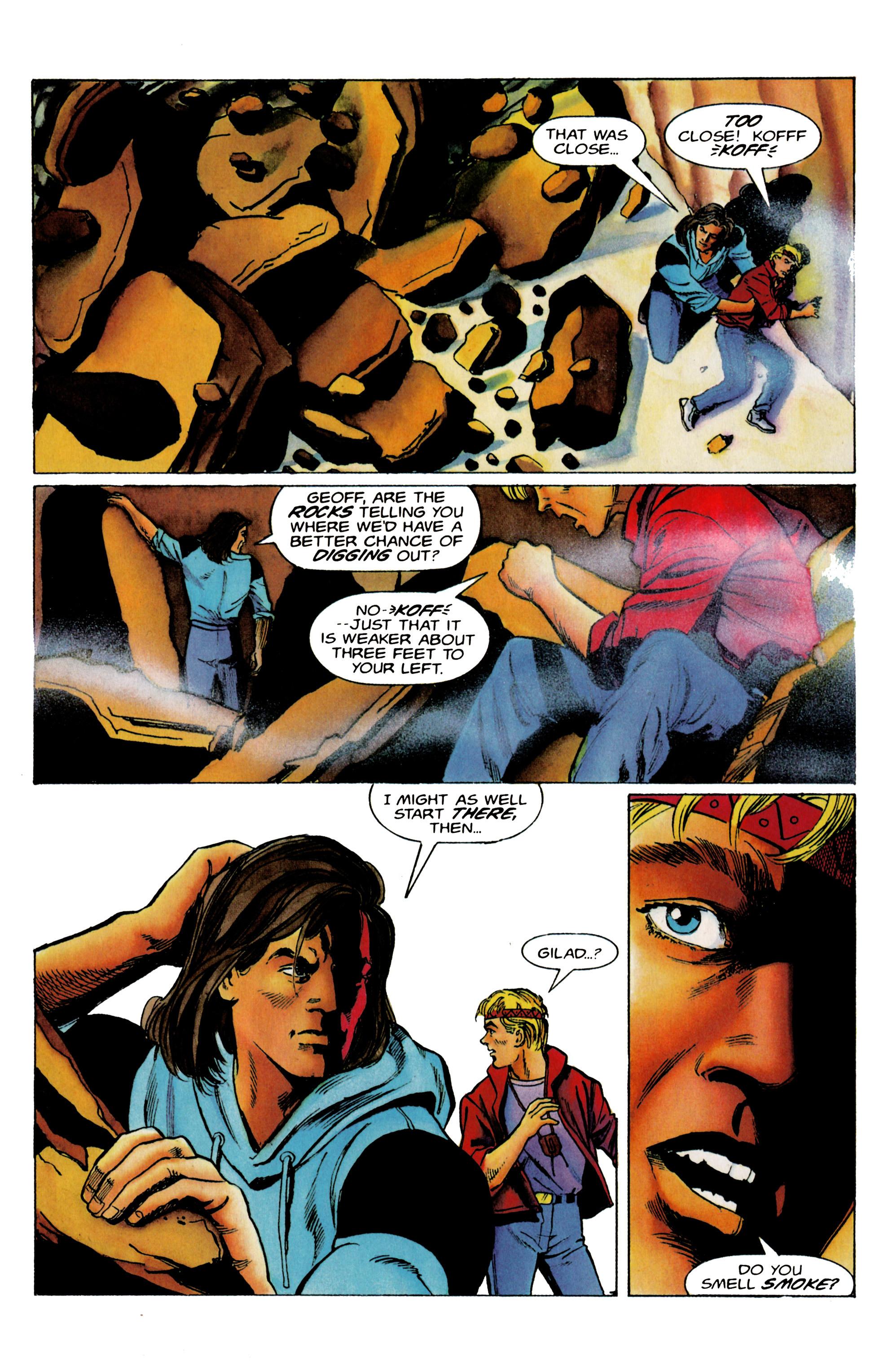 Read online Eternal Warrior (1992) comic -  Issue #19 - 14