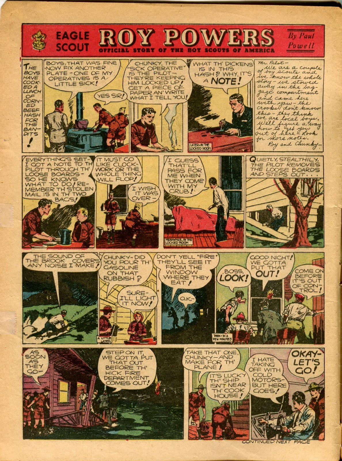 Read online Famous Funnies comic -  Issue #77 - 5