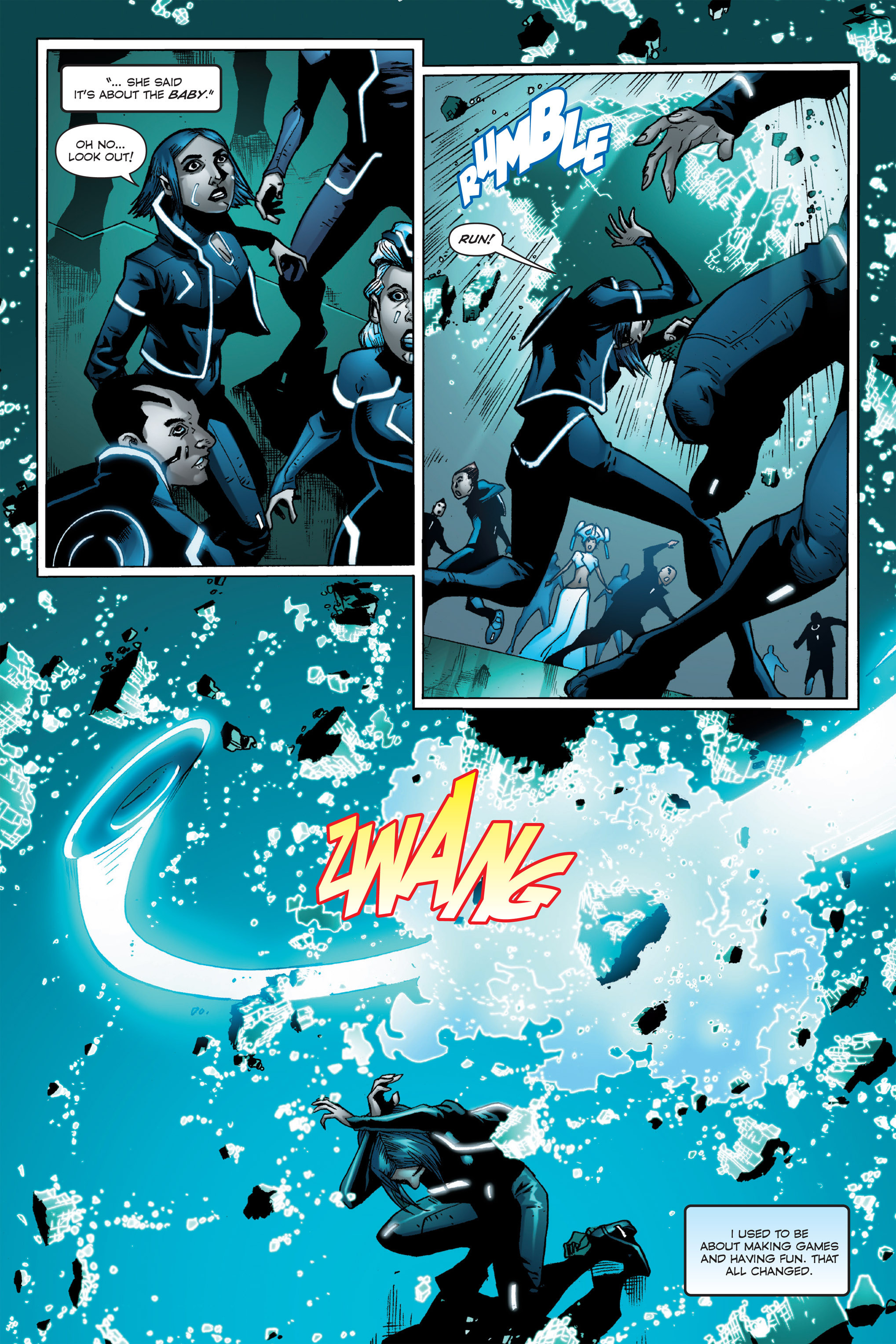Read online TRON: Betrayal comic -  Issue # TPB - 39