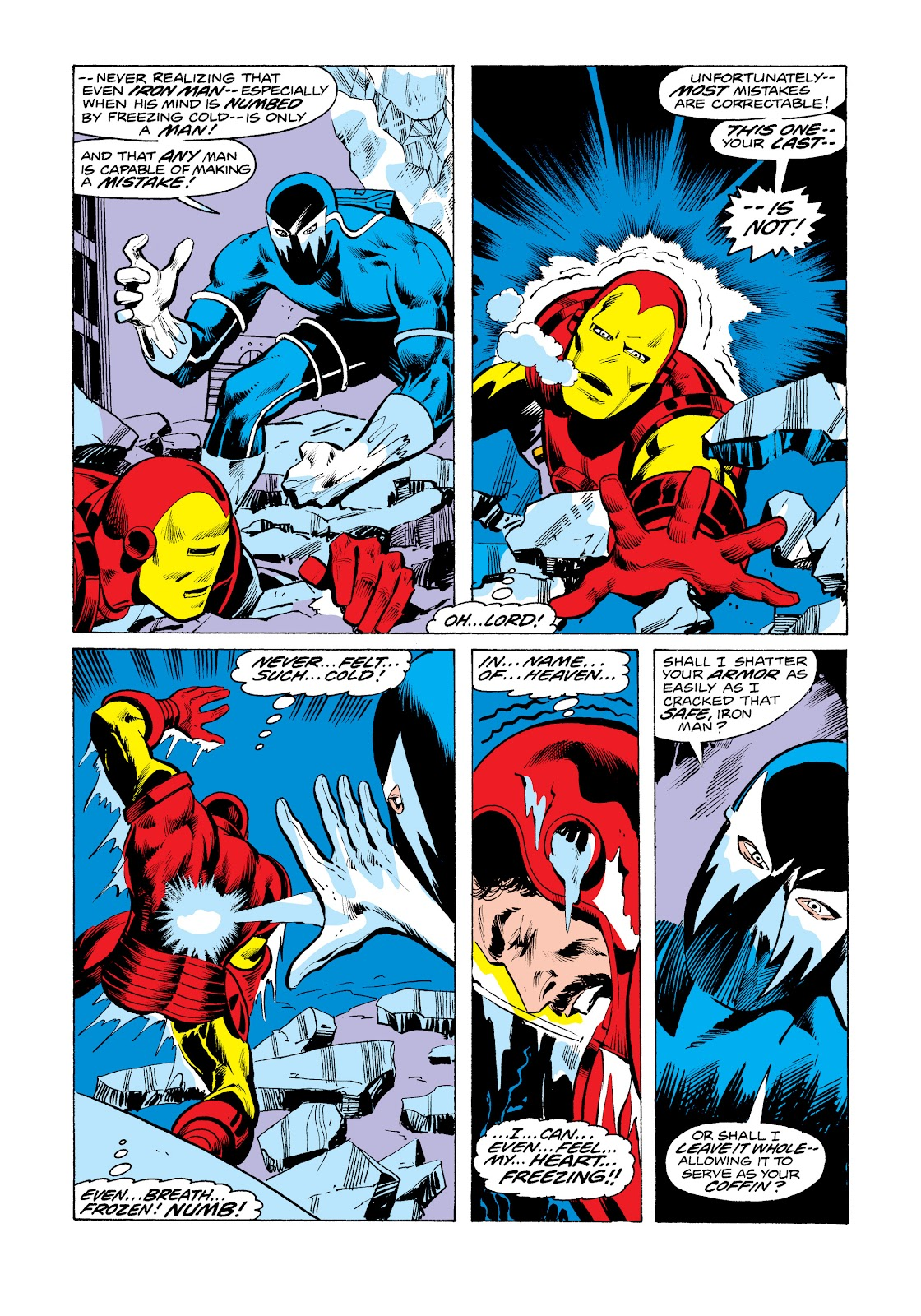 Read online Marvel Masterworks: The Invincible Iron Man comic -  Issue # TPB 11 (Part 2) - 1