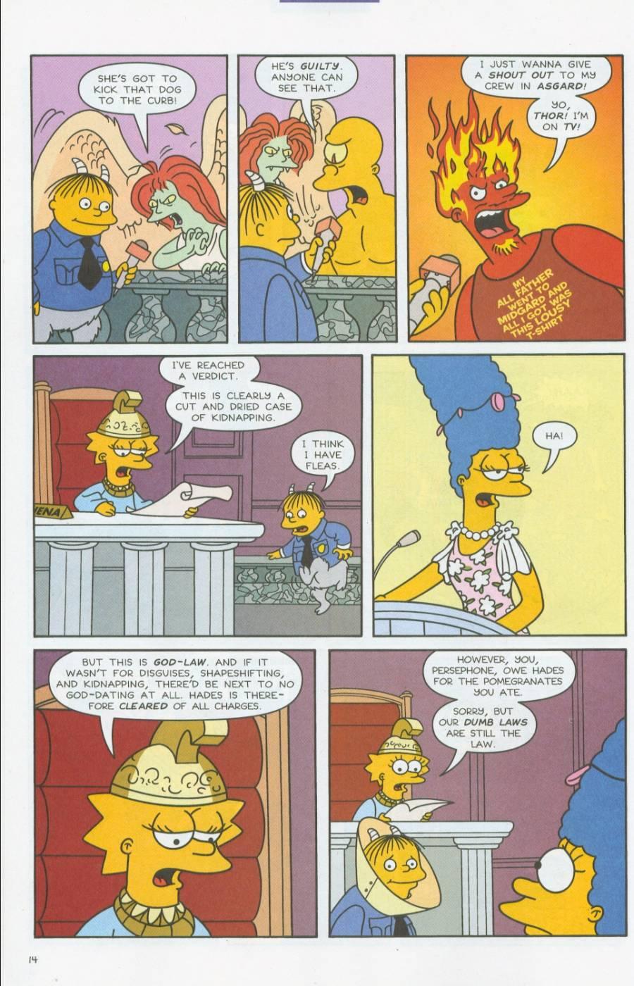 Read online Simpsons Comics comic -  Issue #70 - 15