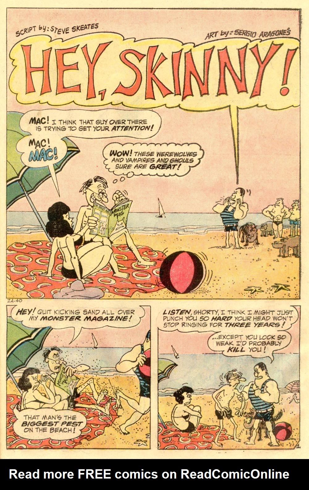 Read online Plop! comic -  Issue #2 - 23