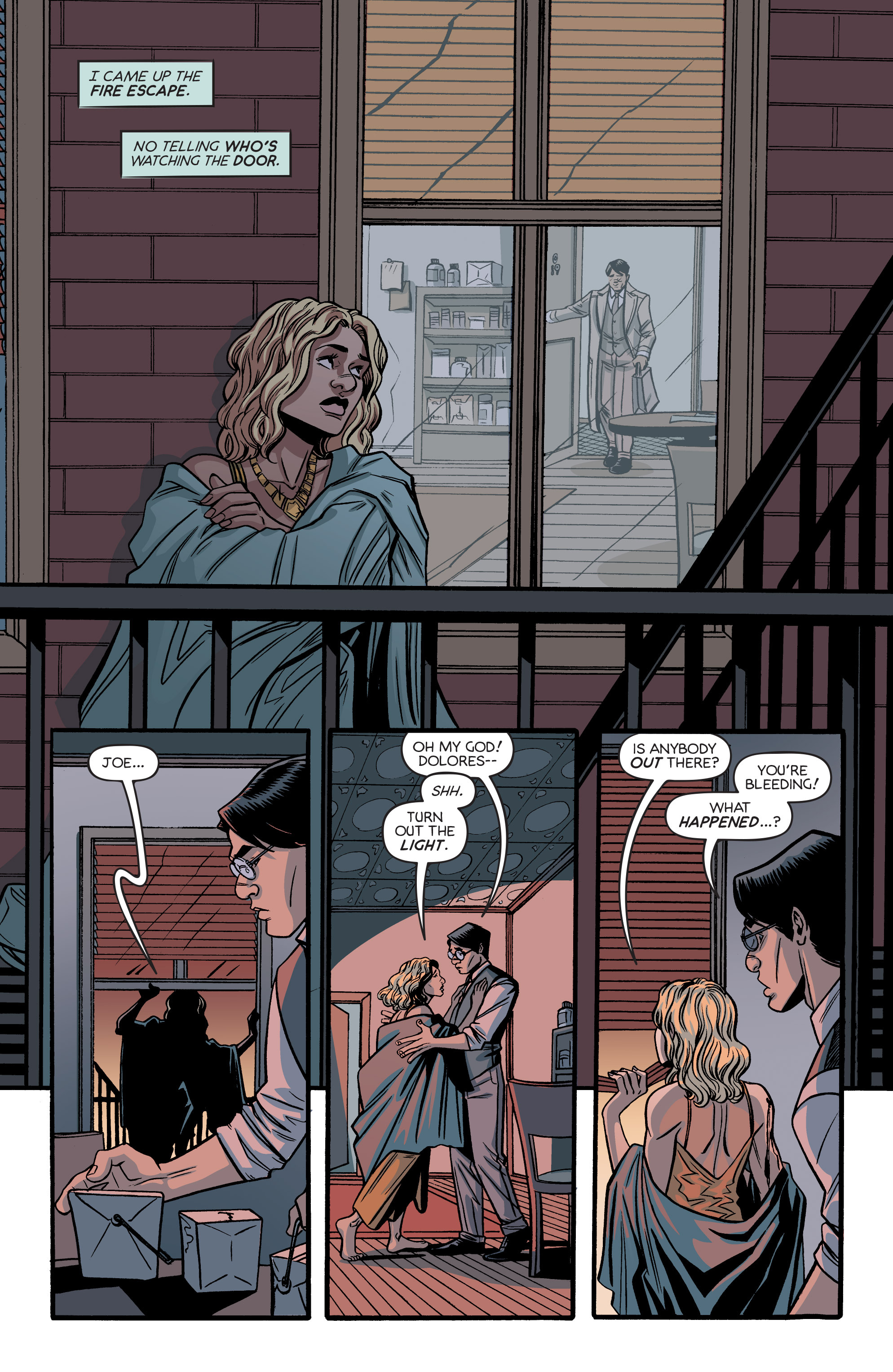 Read online Angel City comic -  Issue #5 - 13