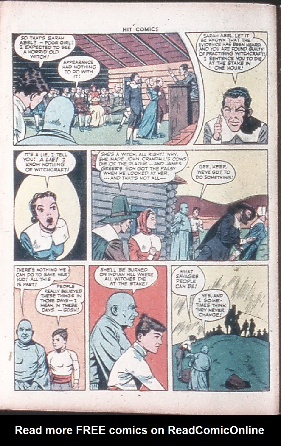 Read online Hit Comics comic -  Issue #36 - 12