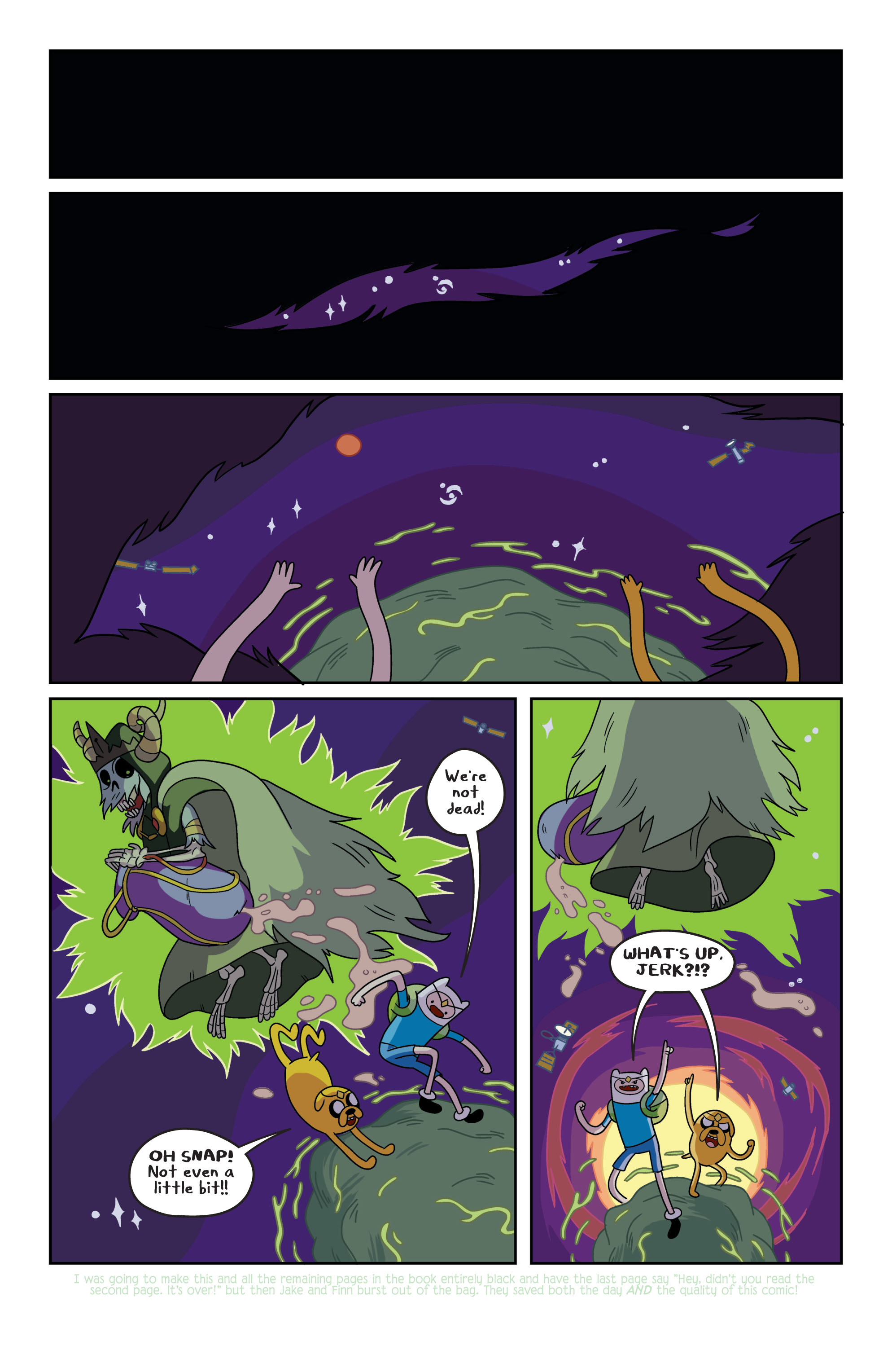 Read online Adventure Time comic -  Issue #3 - 8