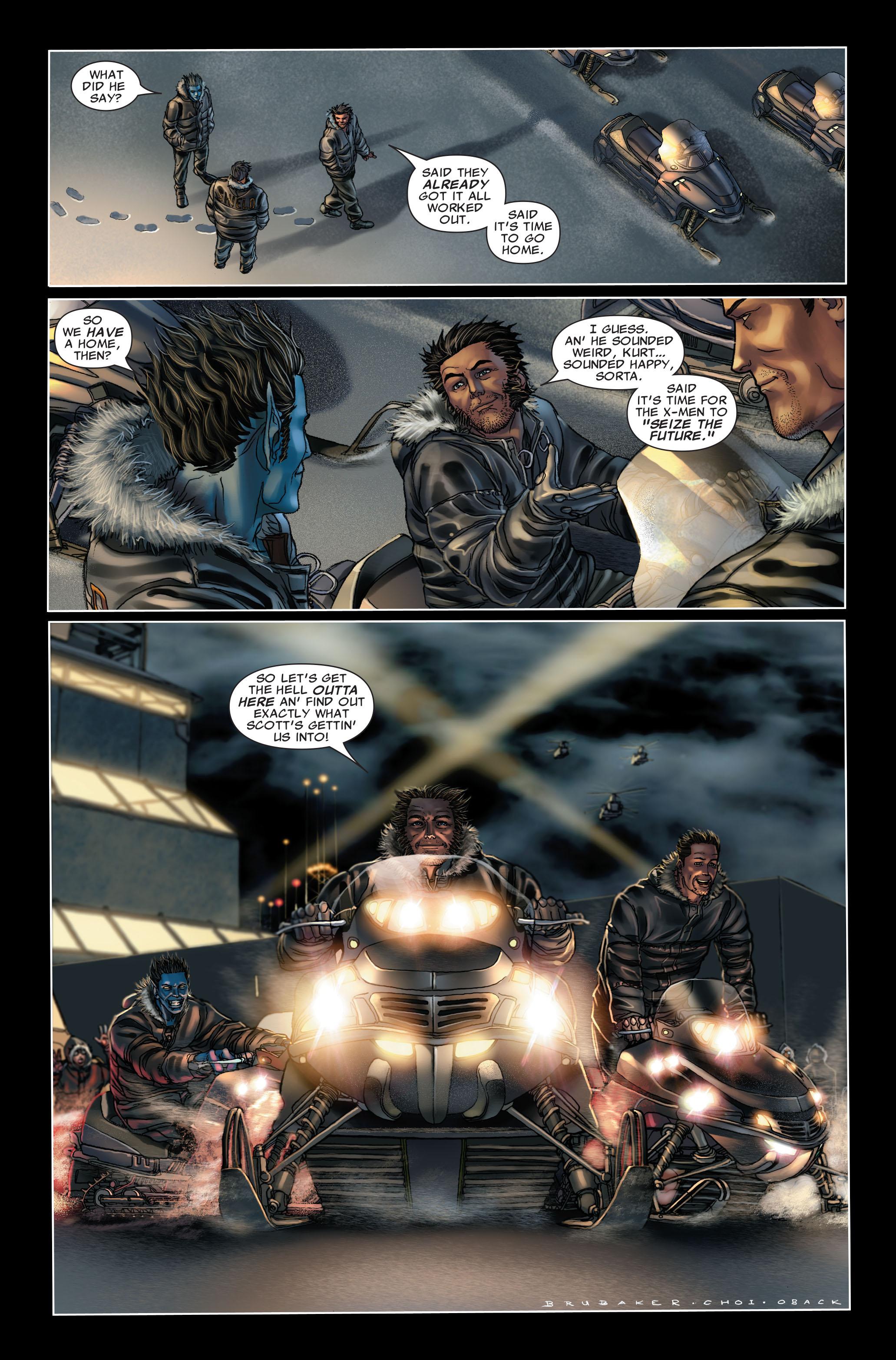 Read online Uncanny X-Men (1963) comic -  Issue #499 - 23