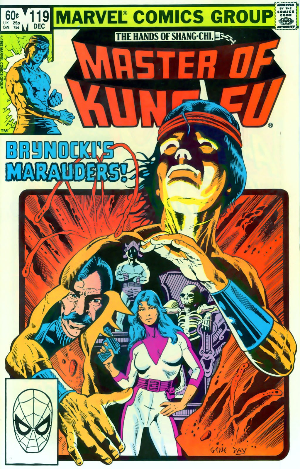 Master of Kung Fu (1974) issue 119 - Page 1