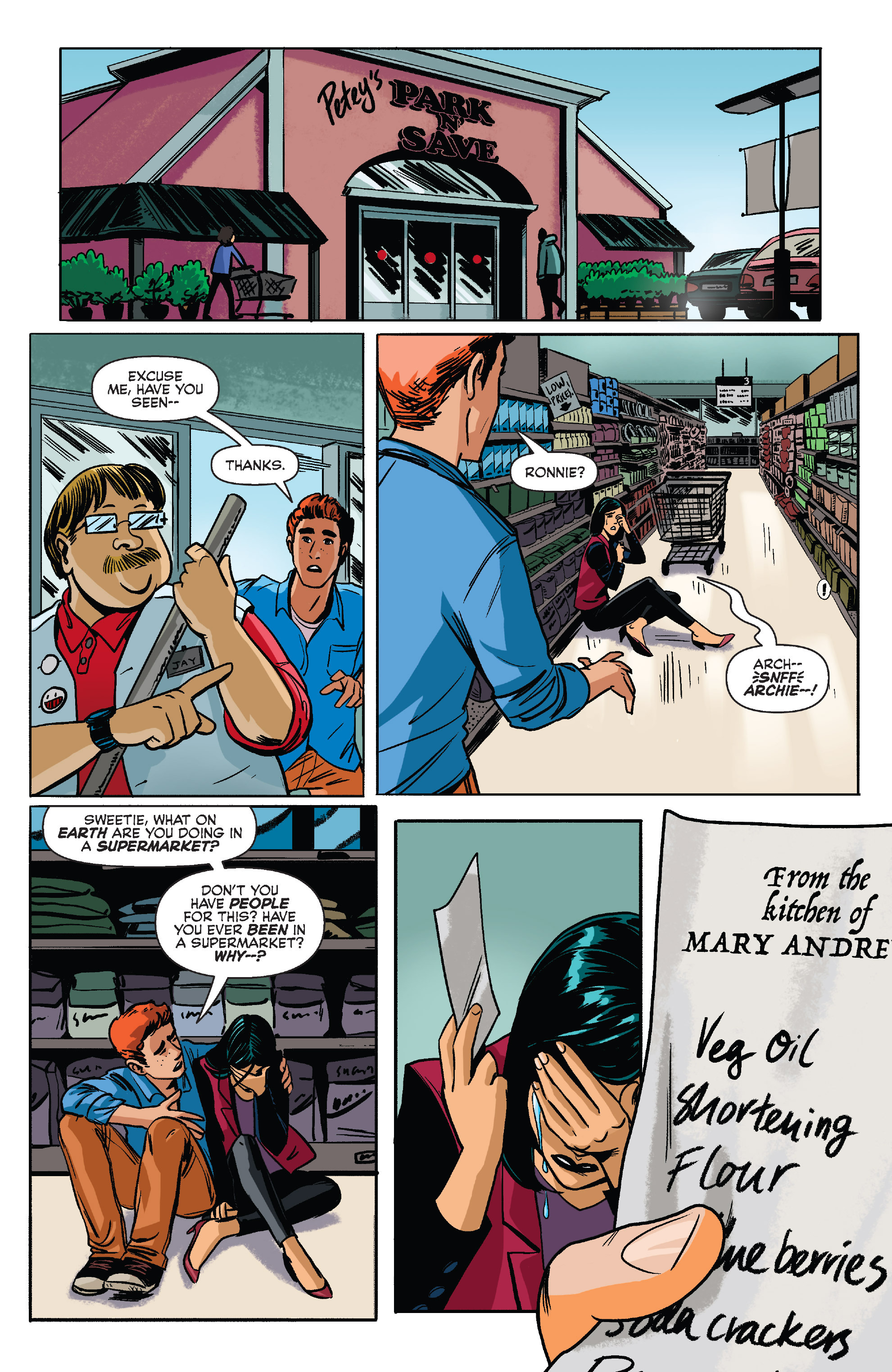 Read online Archie (2015) comic -  Issue #9 - 20
