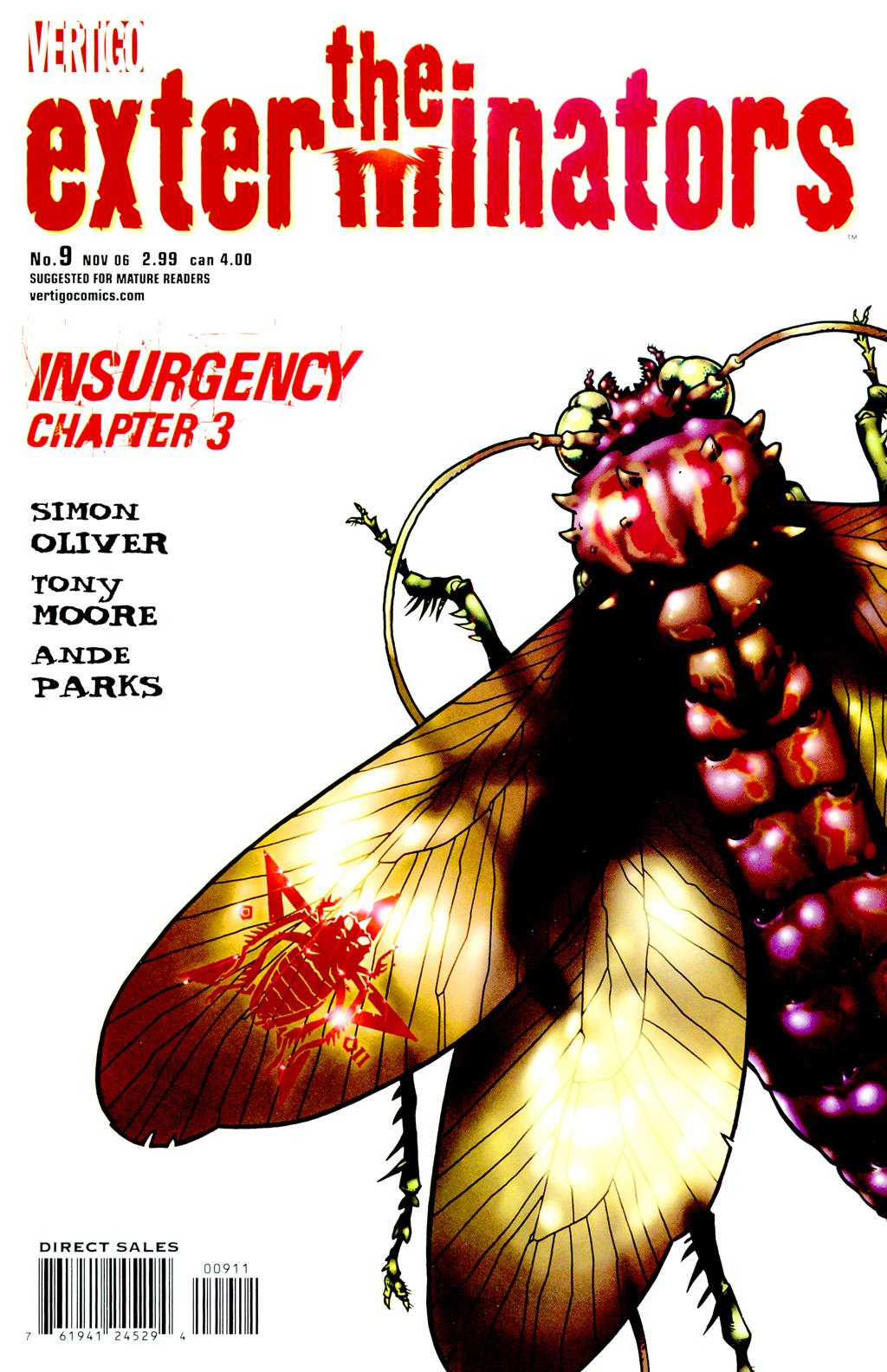 Read online The Exterminators comic -  Issue #9 - 1