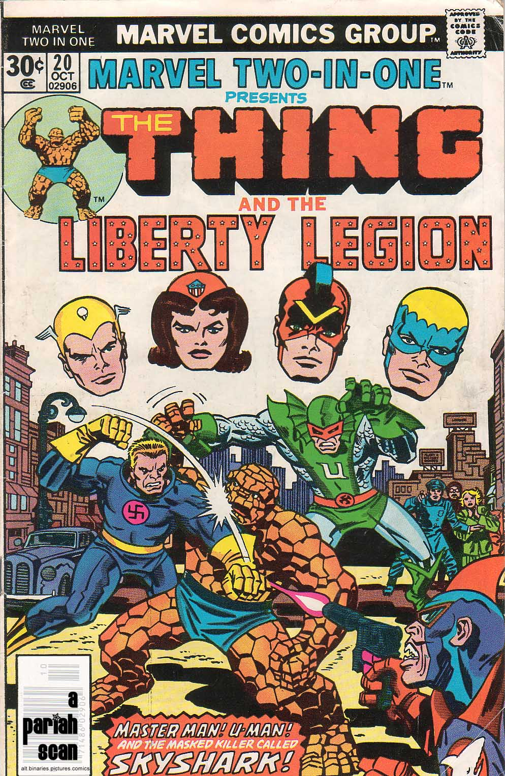 Marvel Two-In-One (1974) issue 20 - Page 1