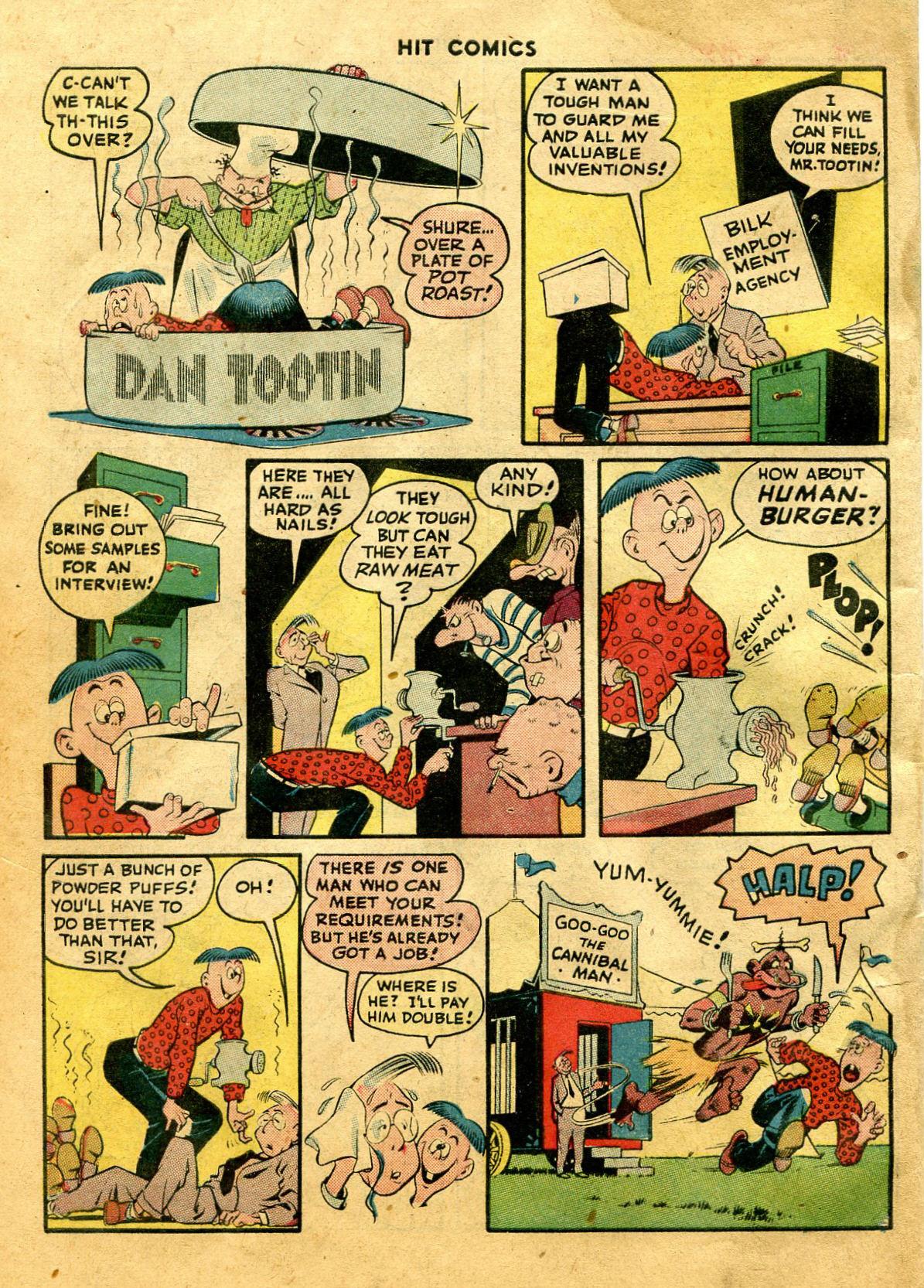 Read online Hit Comics comic -  Issue #44 - 58