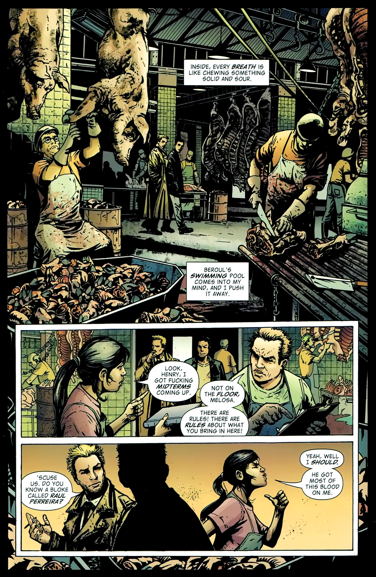 Read online John Constantine Hellblazer: All His Engines comic -  Issue # Full - 56