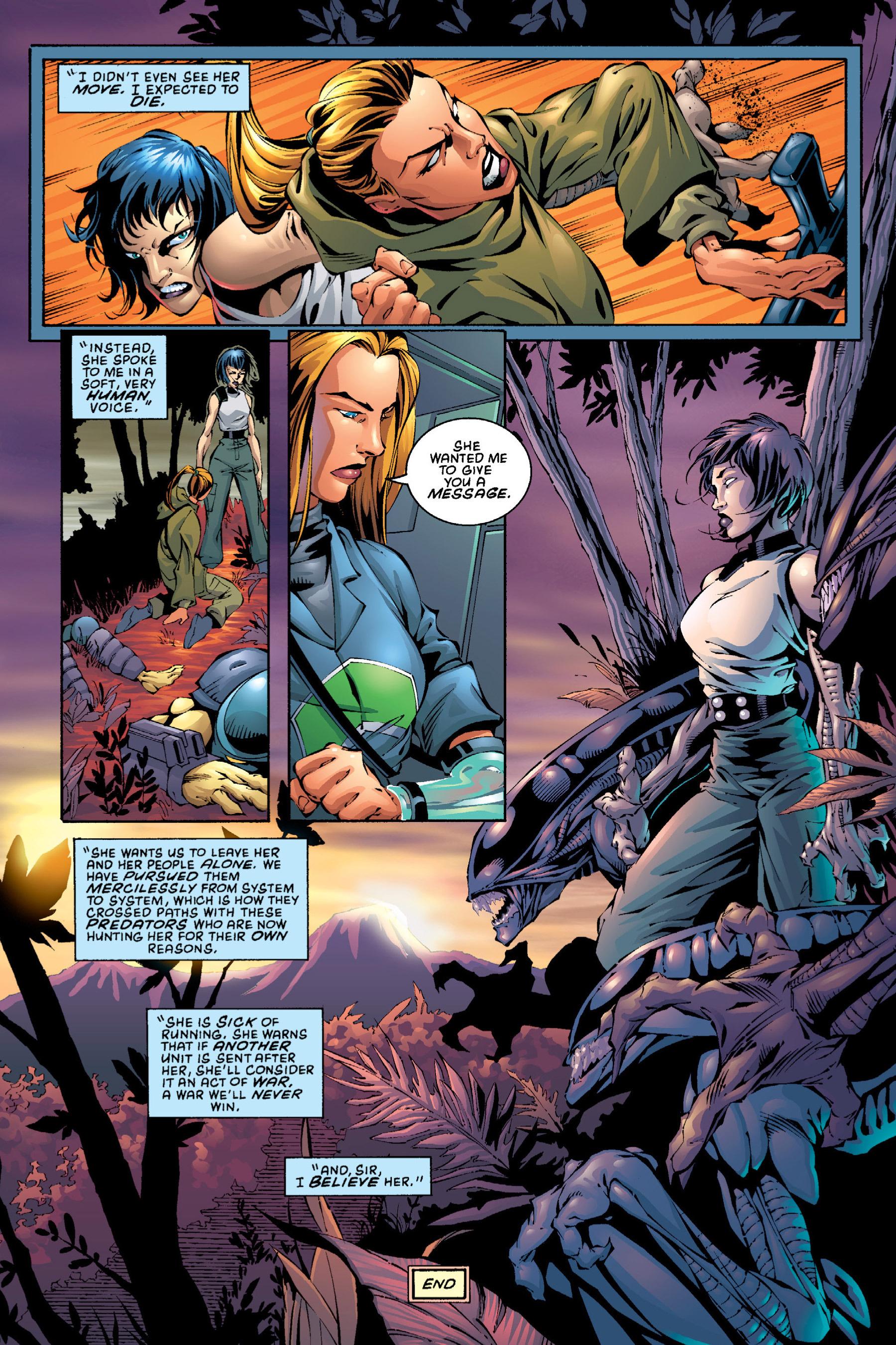 Read online Aliens vs. Predator Omnibus comic -  Issue # _TPB 2 Part 4 - 15