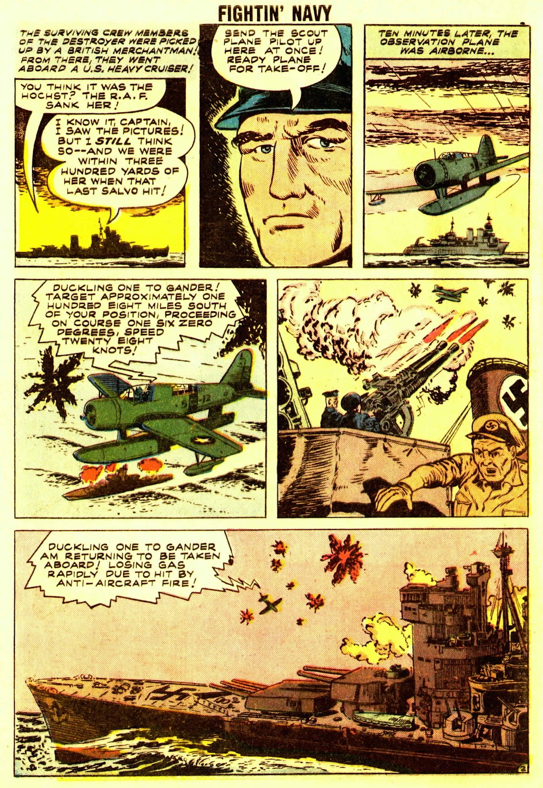 Read online Fightin' Navy comic -  Issue #83 - 4