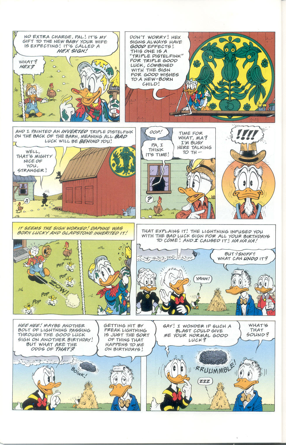 Read online Uncle Scrooge (1953) comic -  Issue #310 - 16
