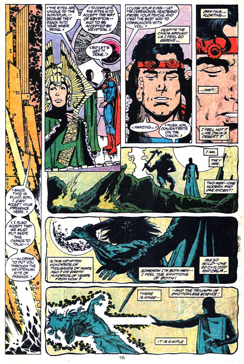 Read online Adventures of Superman (1987) comic -  Issue #461 - 17