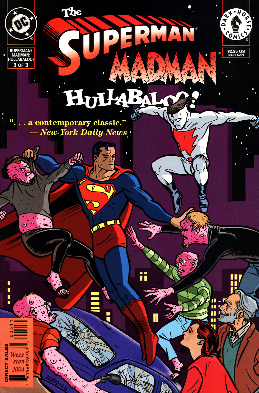 The Superman/Madman: Hullabaloo issue 3 - Page 1