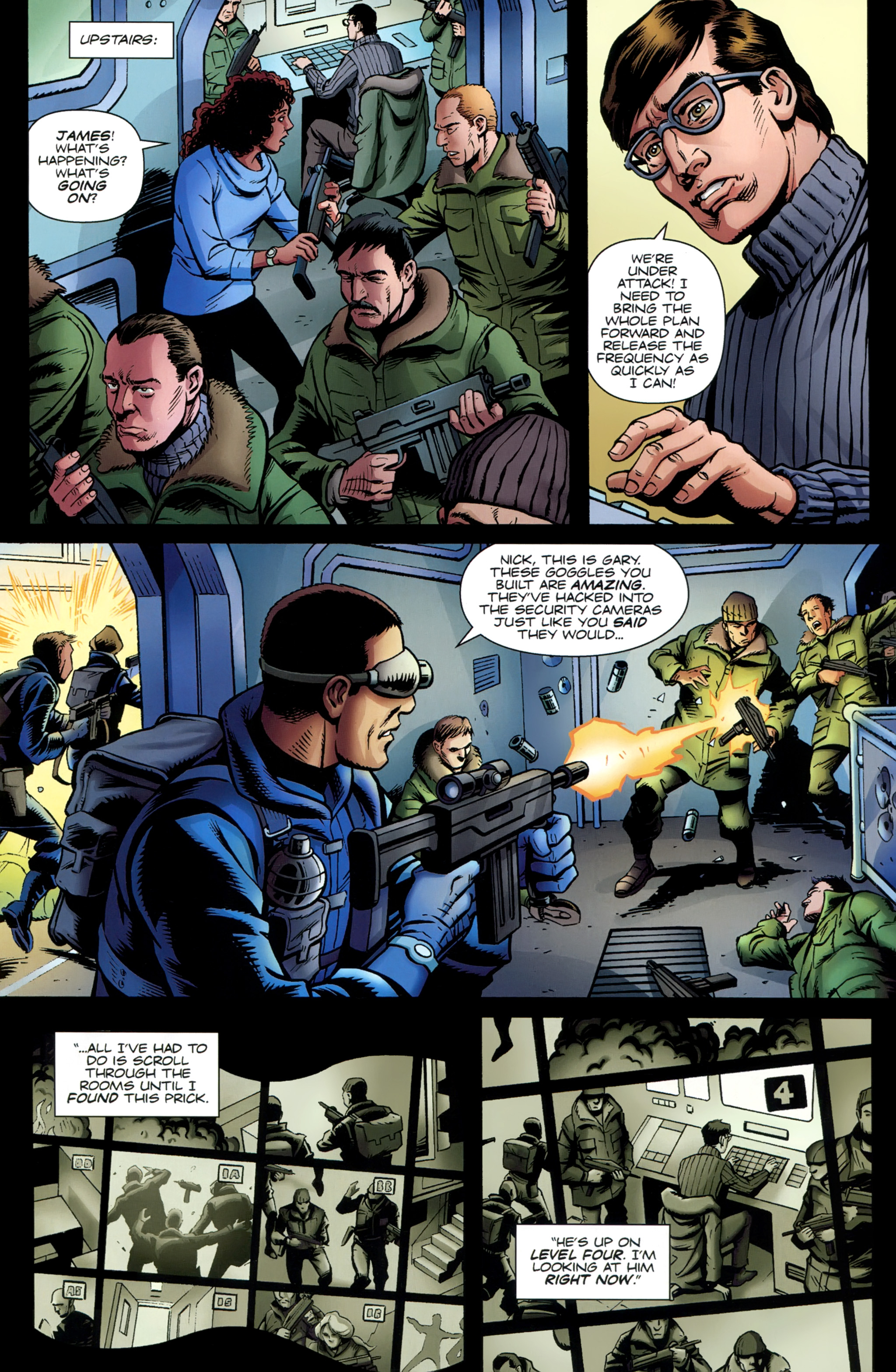 Read online Secret Service comic -  Issue #6 - 16