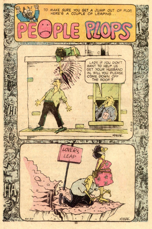 Read online Plop! comic -  Issue #8 - 24