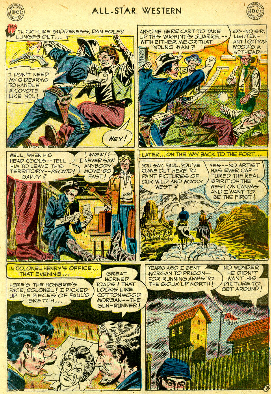 Read online All-Star Western (1951) comic -  Issue #68 - 21