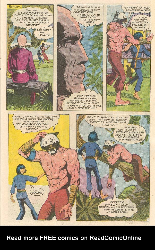 Read online Arion, Lord of Atlantis comic -  Issue #32 - 8