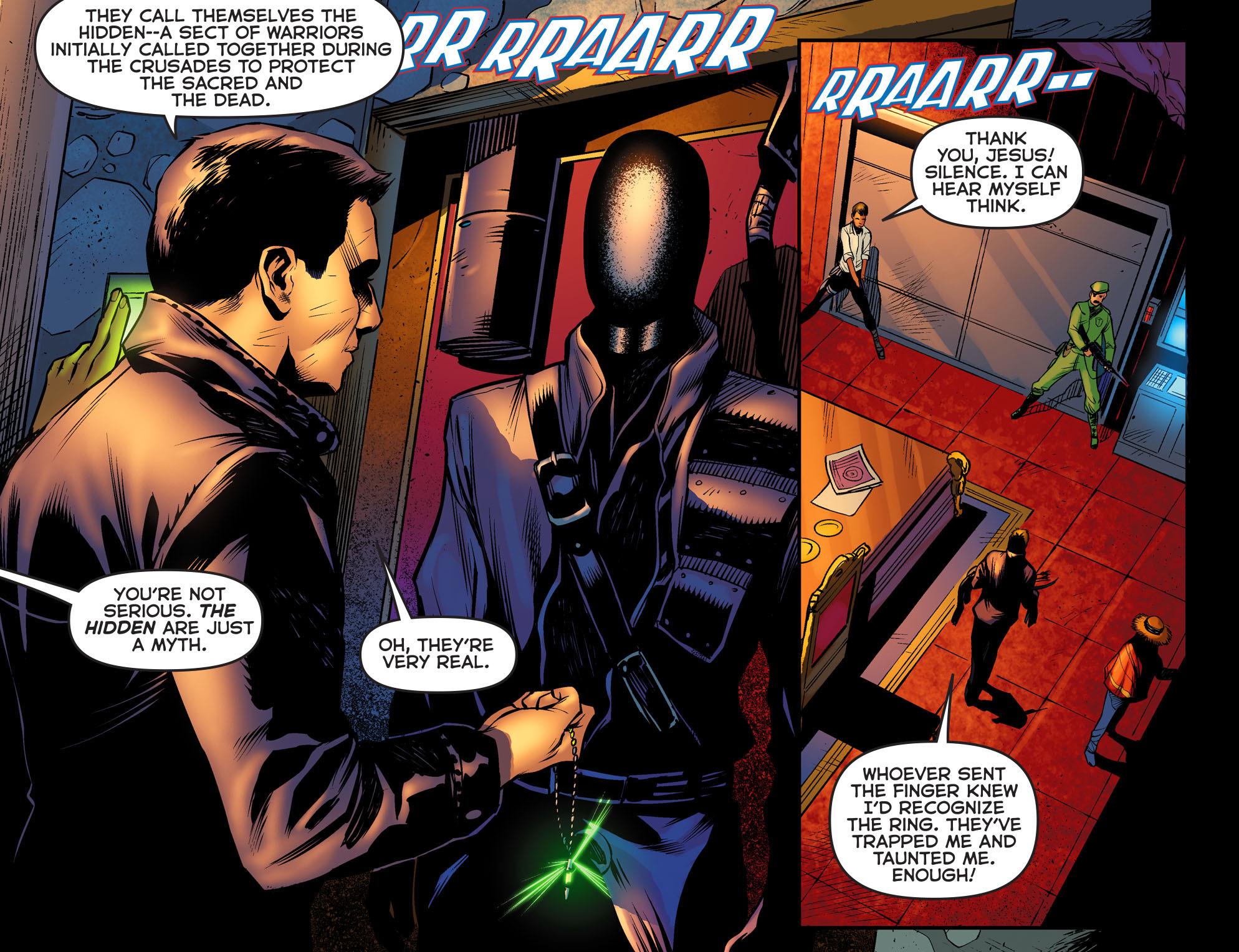 Read online Arrow: The Dark Archer comic -  Issue #2 - 18