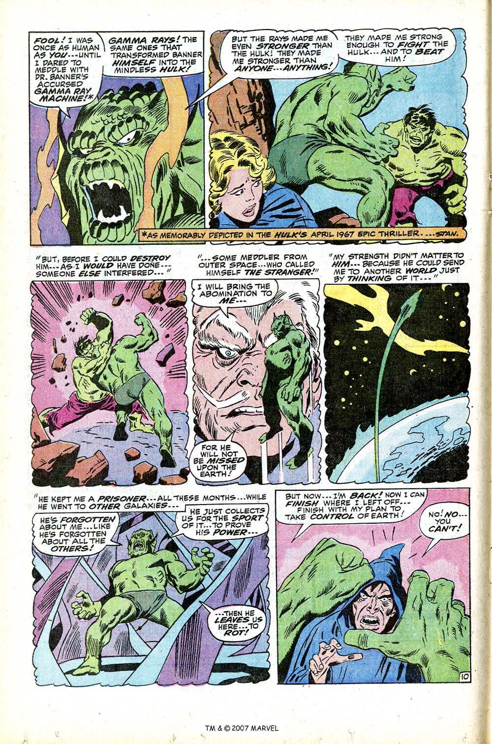 Read online Silver Surfer (1968) comic -  Issue #12 - 16