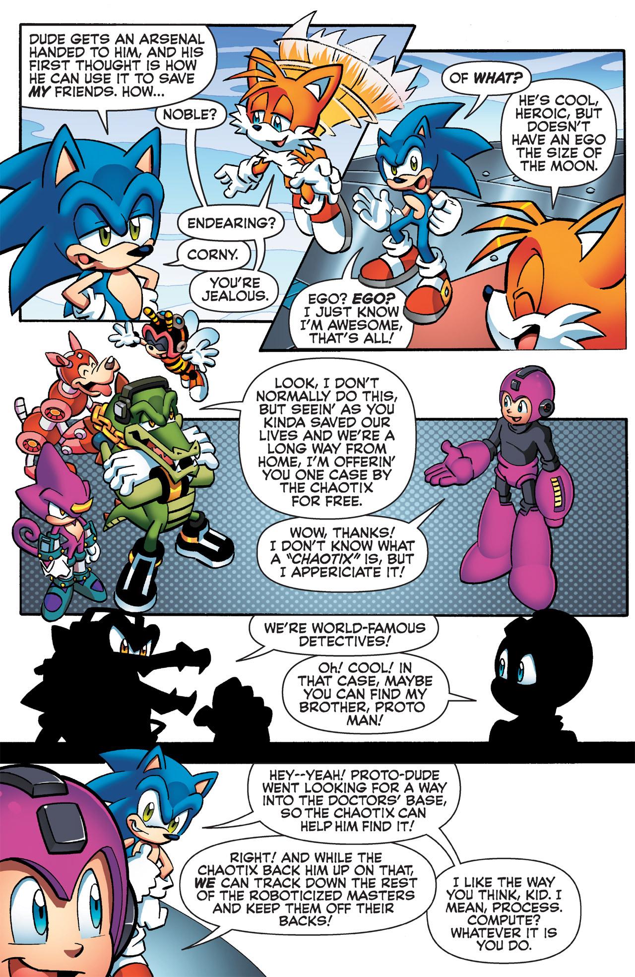 Read online Sonic Mega Man Worlds Collide comic -  Issue # Vol 2 - 50