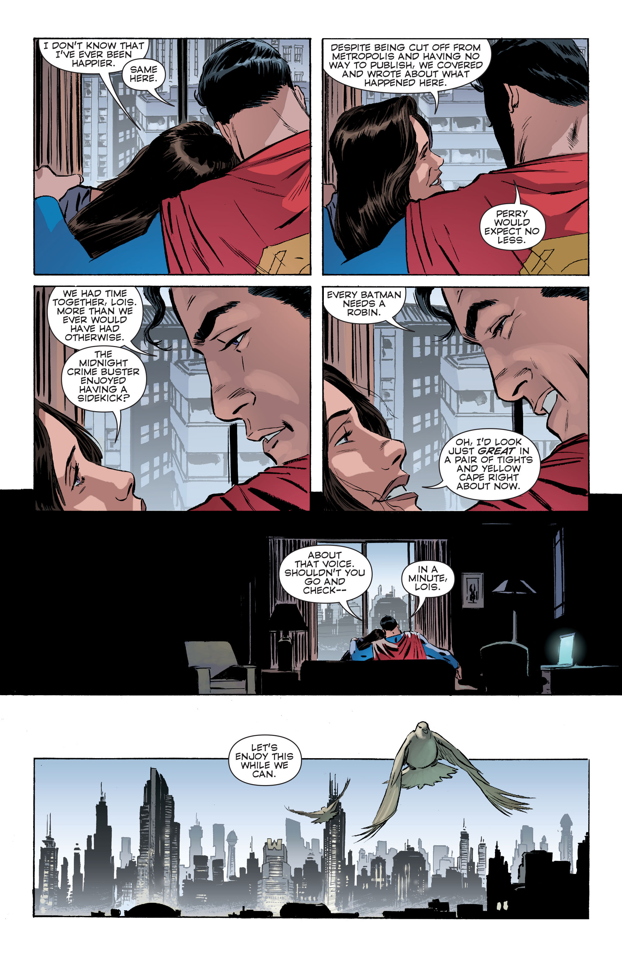 Read online Convergence Superman comic -  Issue #1 - 11