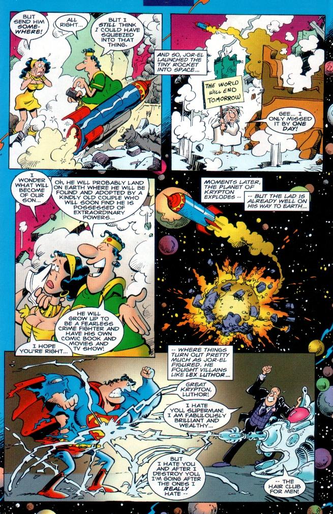 Read online Sergio Aragones Destroys DC comic -  Issue # Full - 9