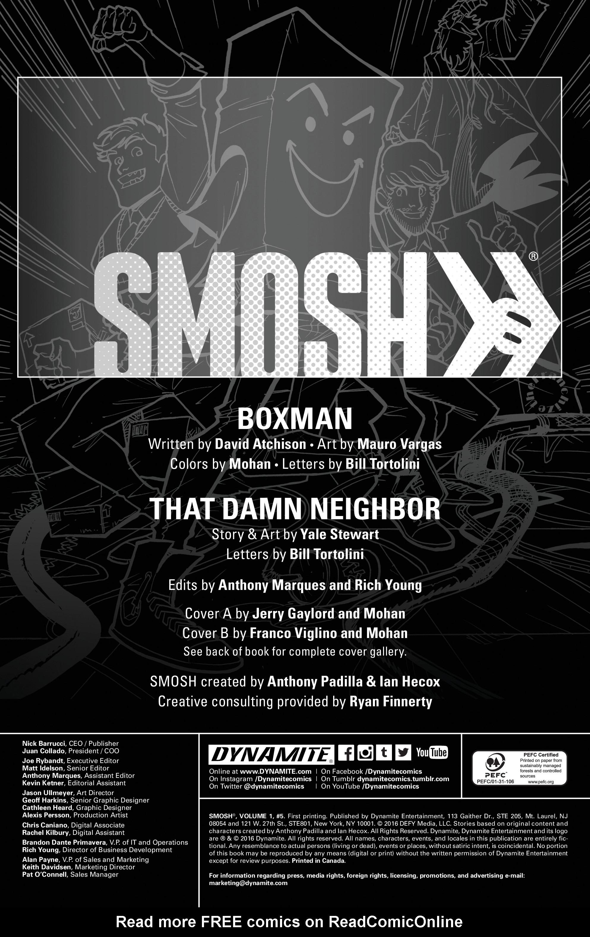 Read online Smosh comic -  Issue #5 - 2