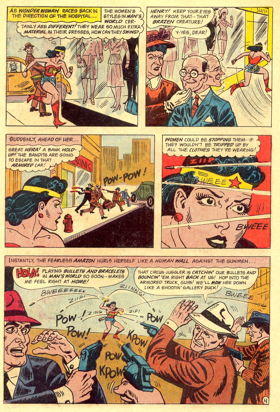 Read online Wonder Woman (1942) comic -  Issue #162 - 6