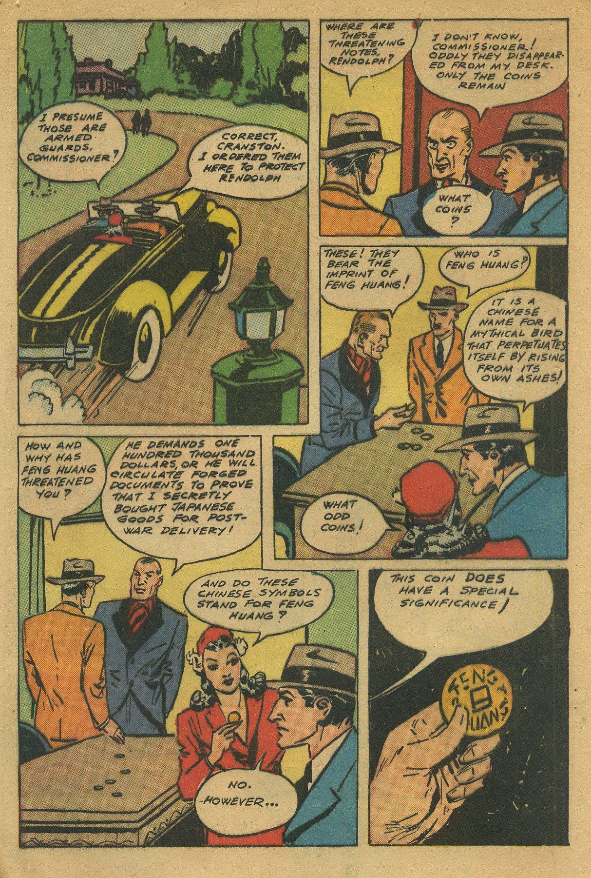 Read online Shadow Comics comic -  Issue #49 - 4