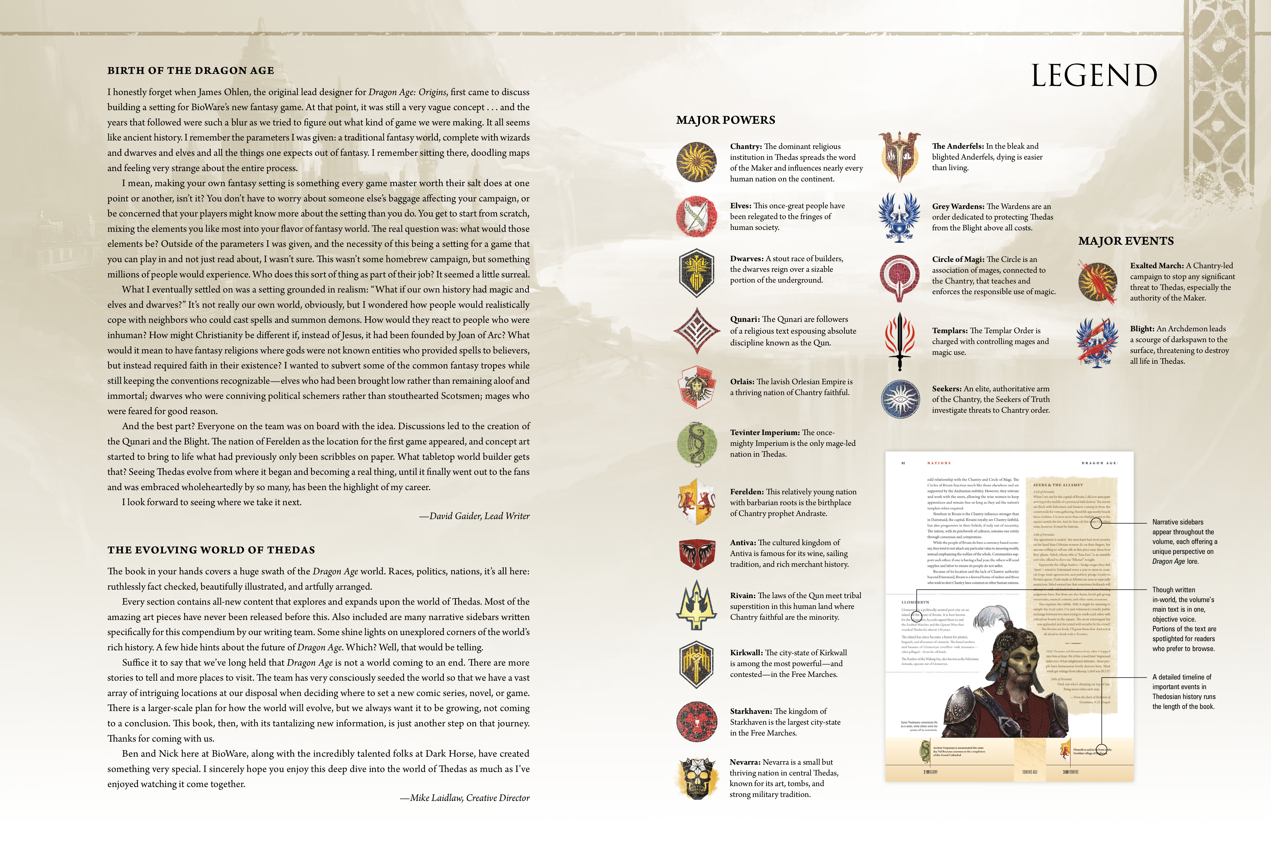 Read online Dragon Age: The World of Thedas comic -  Issue # TPB 1 - 6