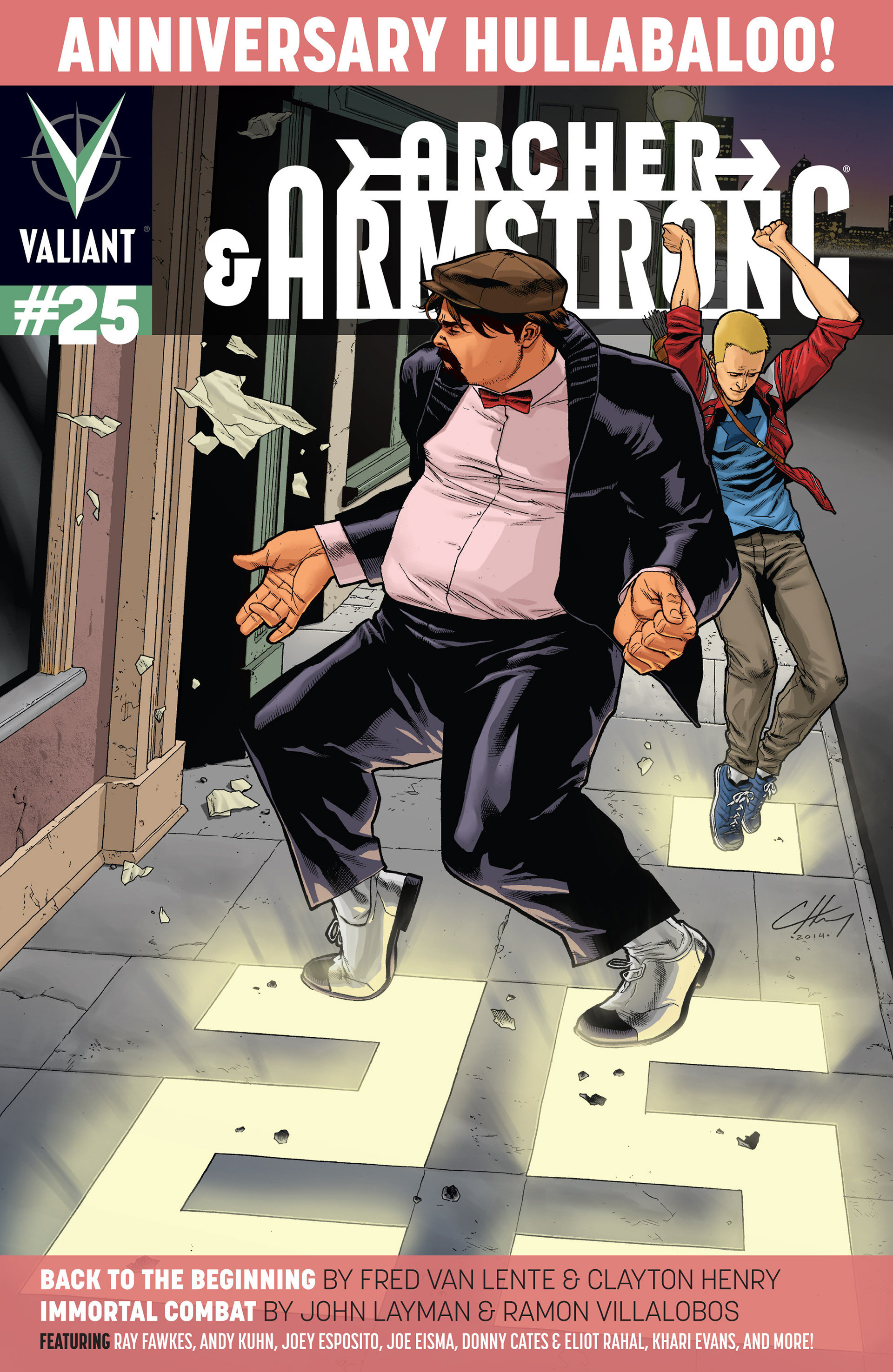 Read online Archer and Armstrong comic -  Issue #25 - 1