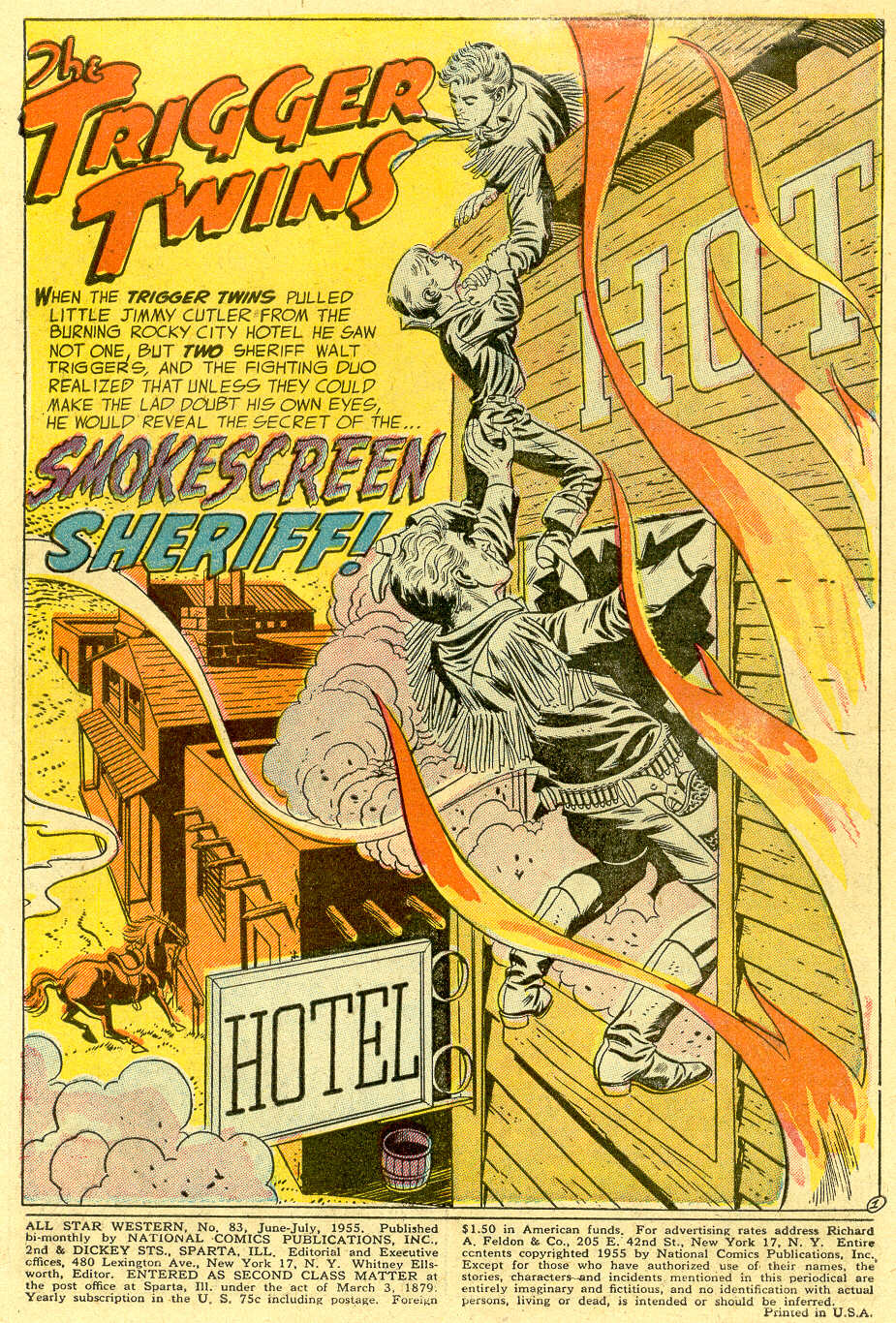 Read online All-Star Western (1951) comic -  Issue #83 - 3