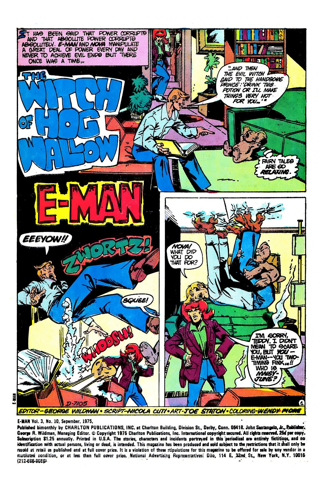 E-Man (1973) issue 10 - Page 3