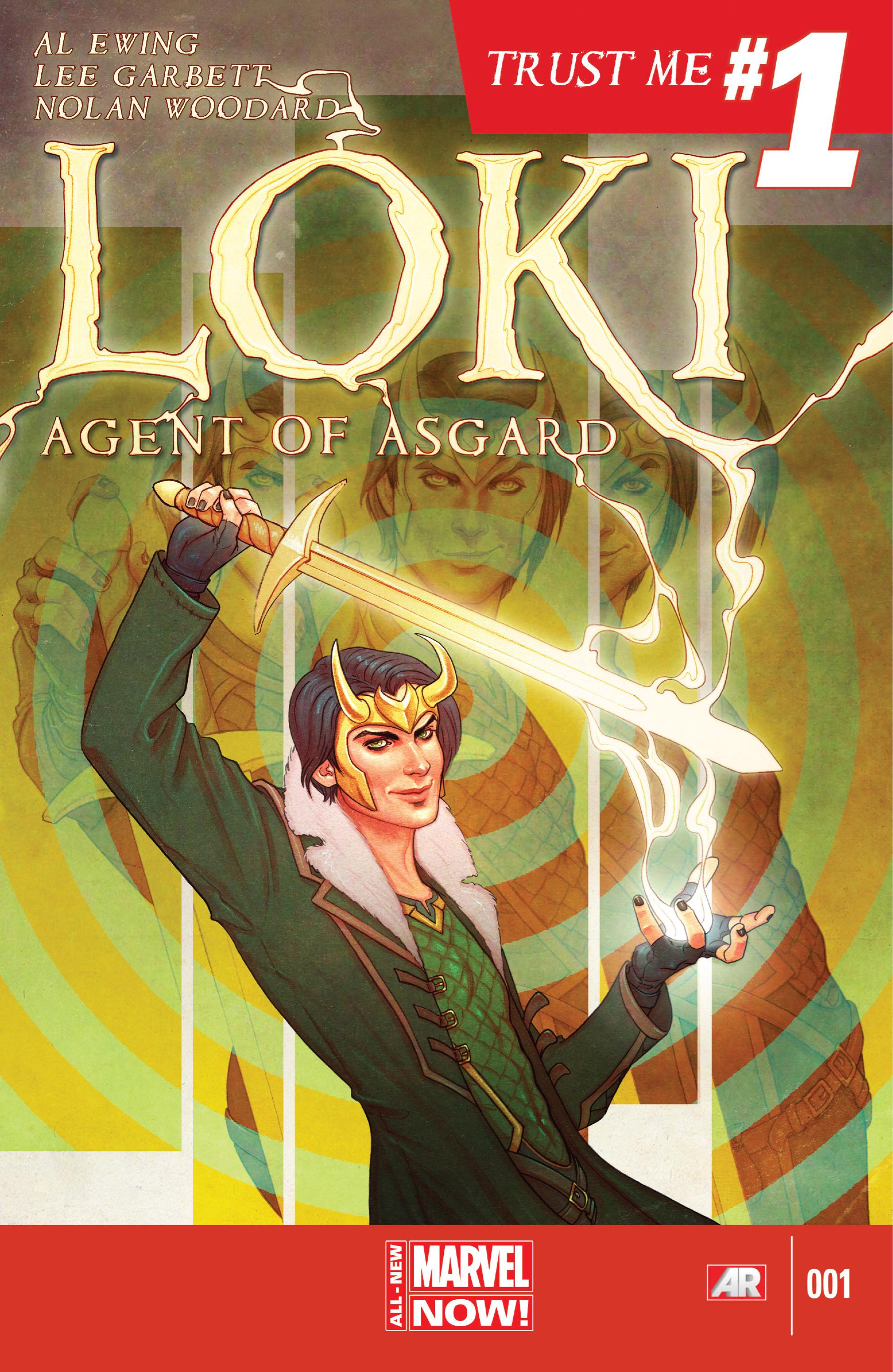 Loki: Agent of Asgard 1 Page 1