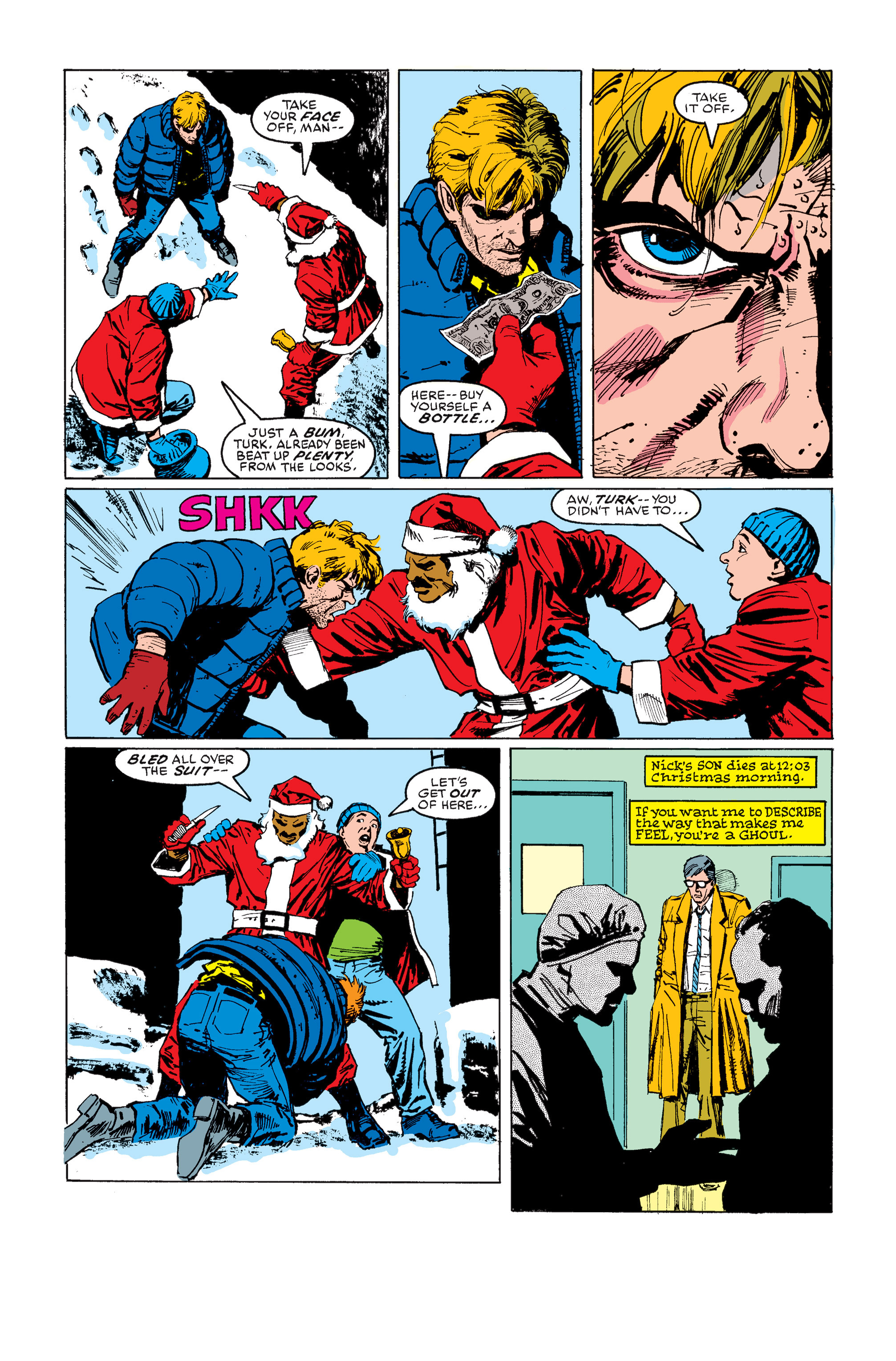 Read online Daredevil: Born Again comic -  Issue # Full - 90