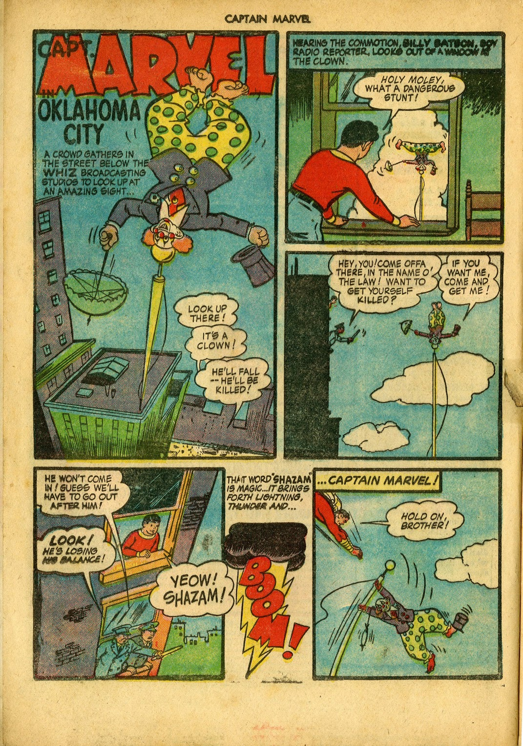 Captain Marvel Adventures issue 34 - Page 4