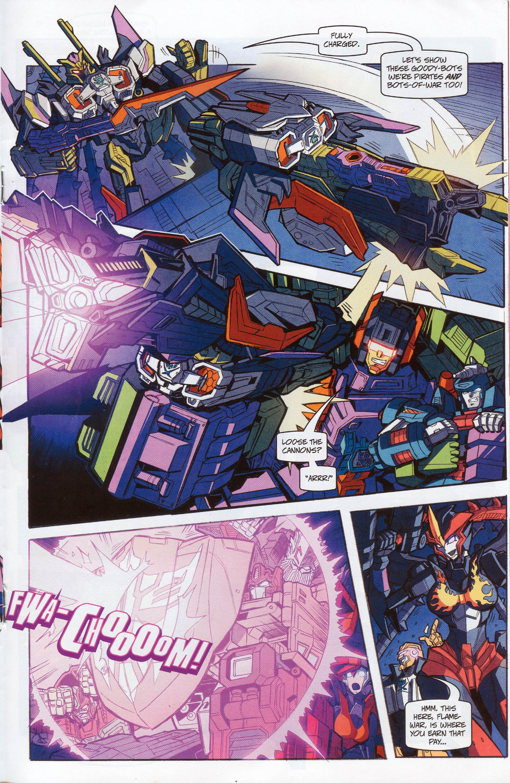 Read online Transformers: Timelines comic -  Issue #10 - 17