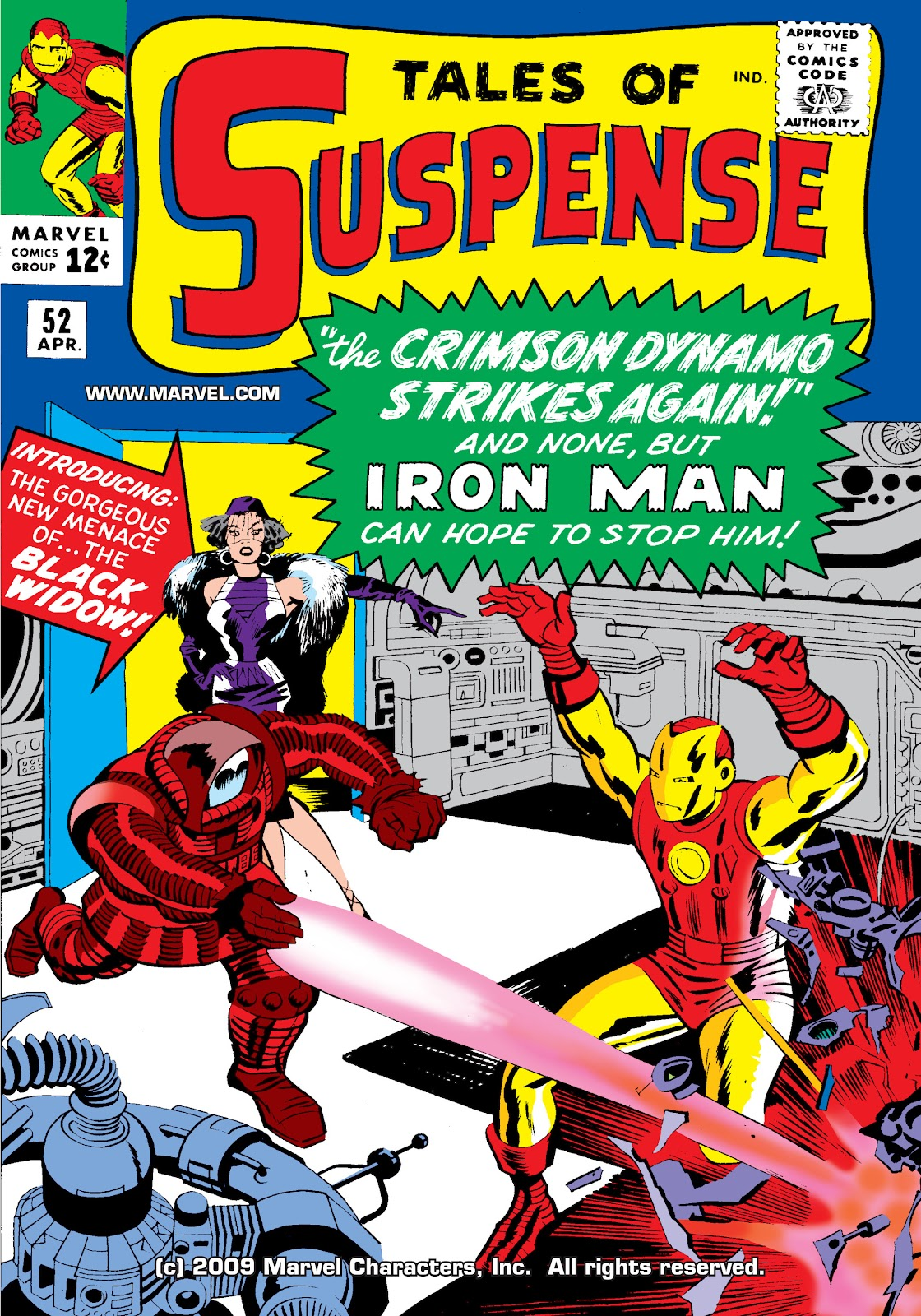 Read online Marvel Masterworks: The Invincible Iron Man comic -  Issue # TPB 2 (Part 1) - 17