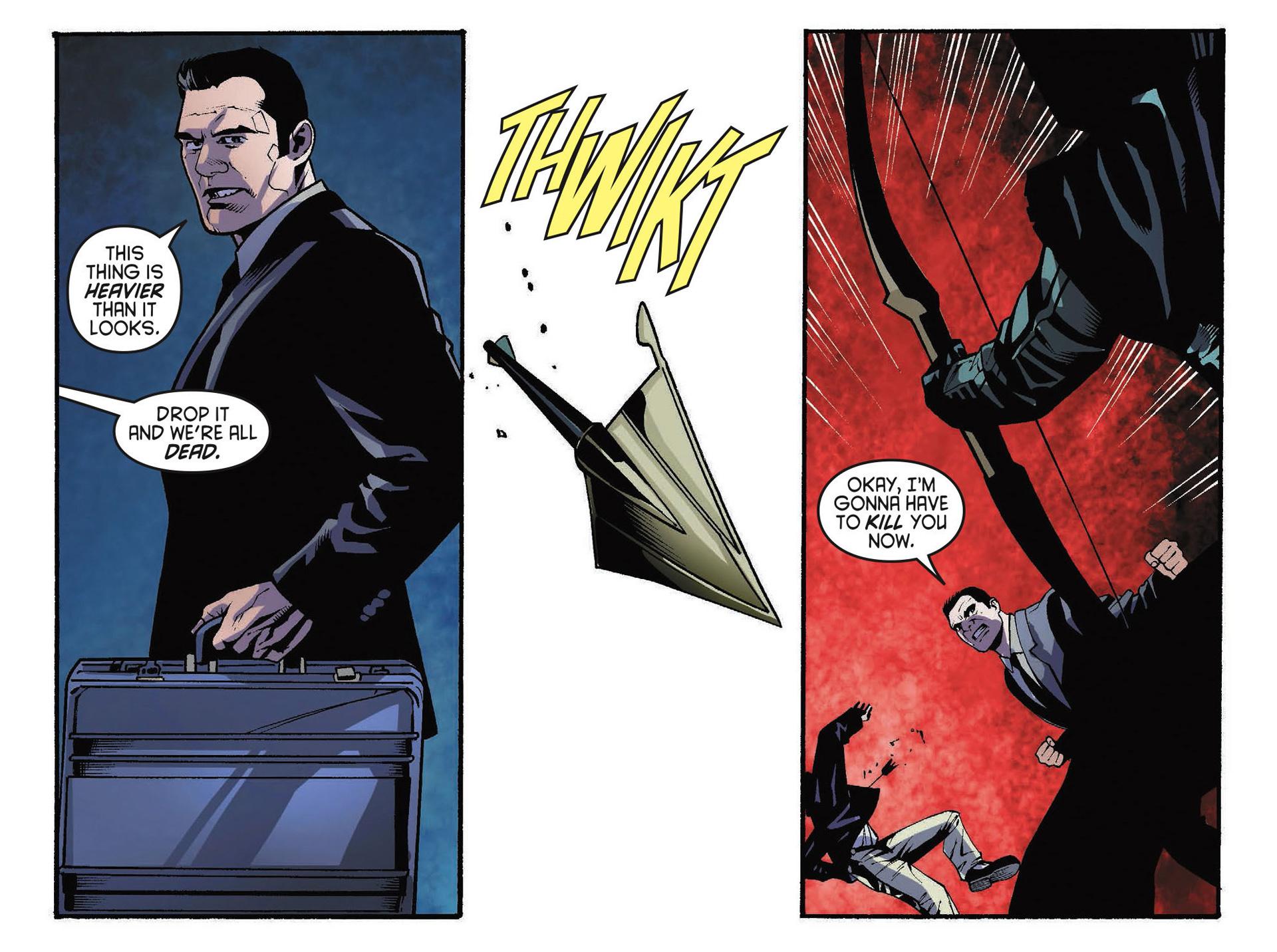 Read online Arrow [II] comic -  Issue #34 - 10