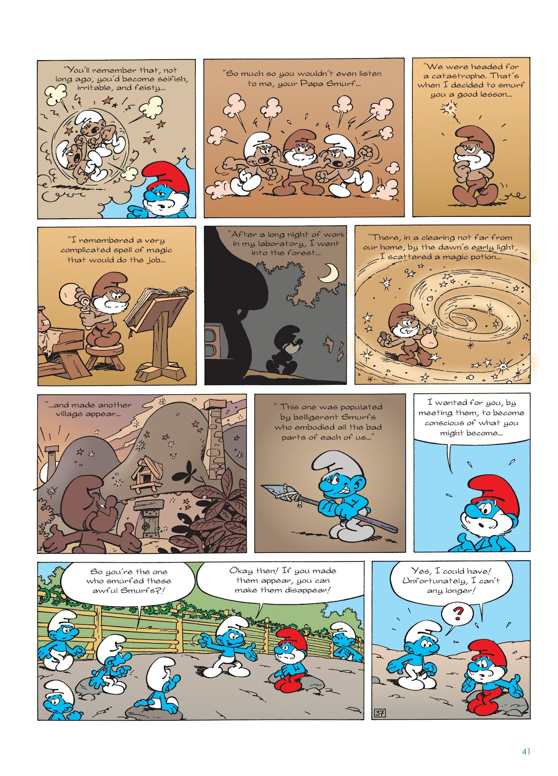 Read online The Smurfs comic -  Issue #22 - 42