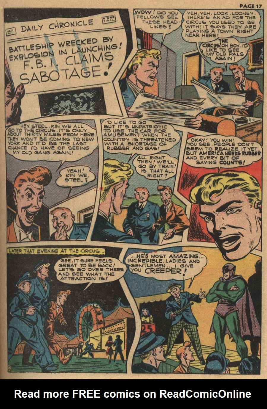 Zip Comics issue 31 - Page 17