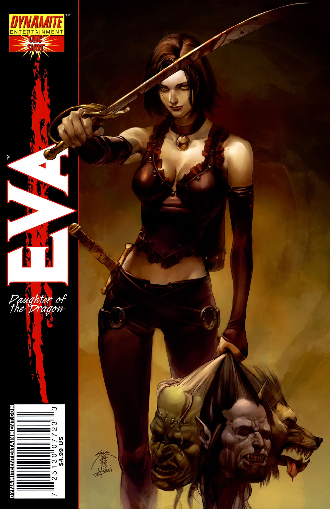 Read online Eva: Daughter of the Dragon comic -  Issue # Full - 1